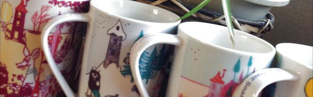 マグカップとインテリア