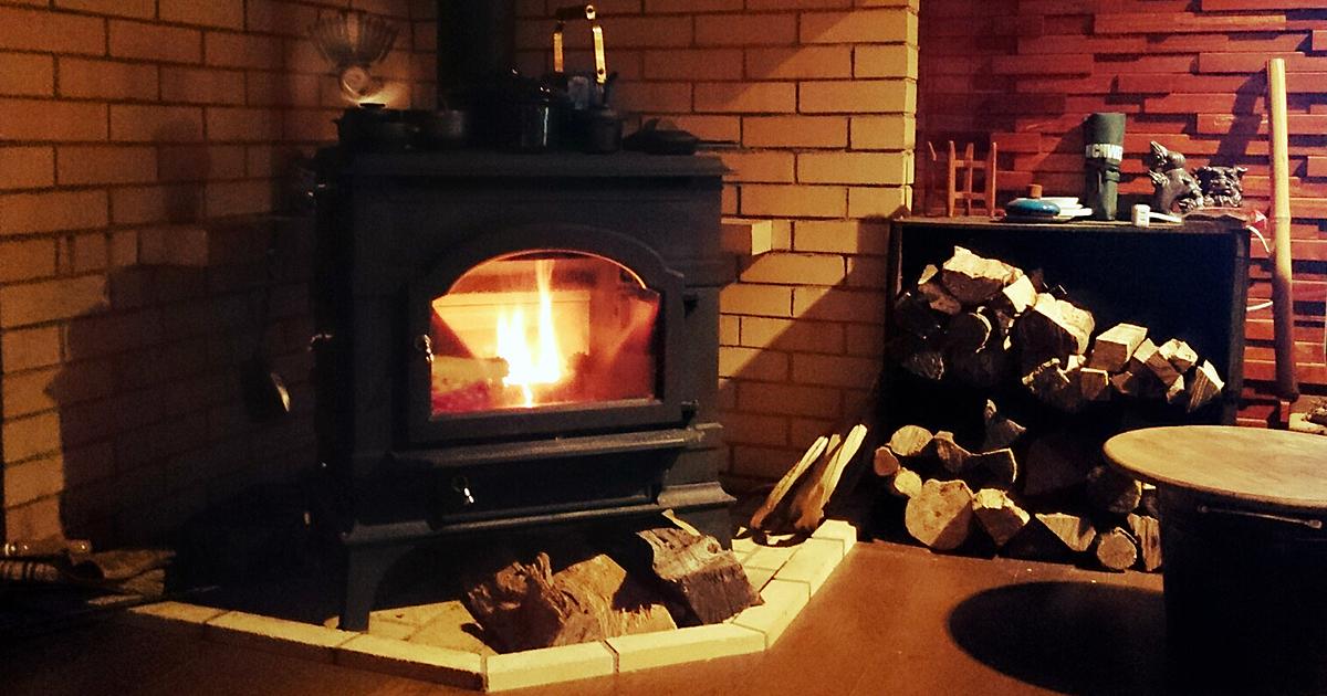 暖炉インテリア