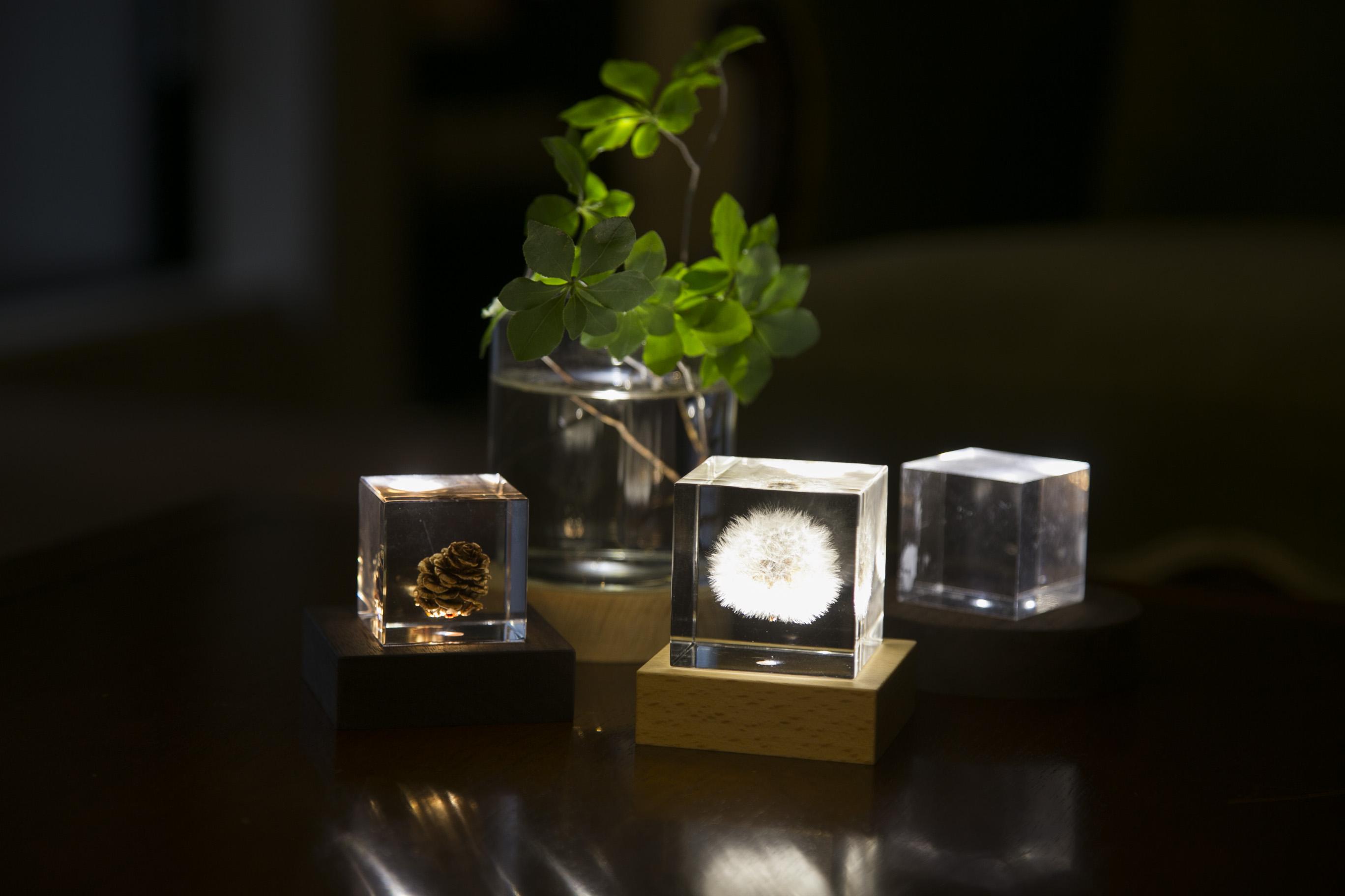 自分好みの灯りが自在に作れる「Light Base」