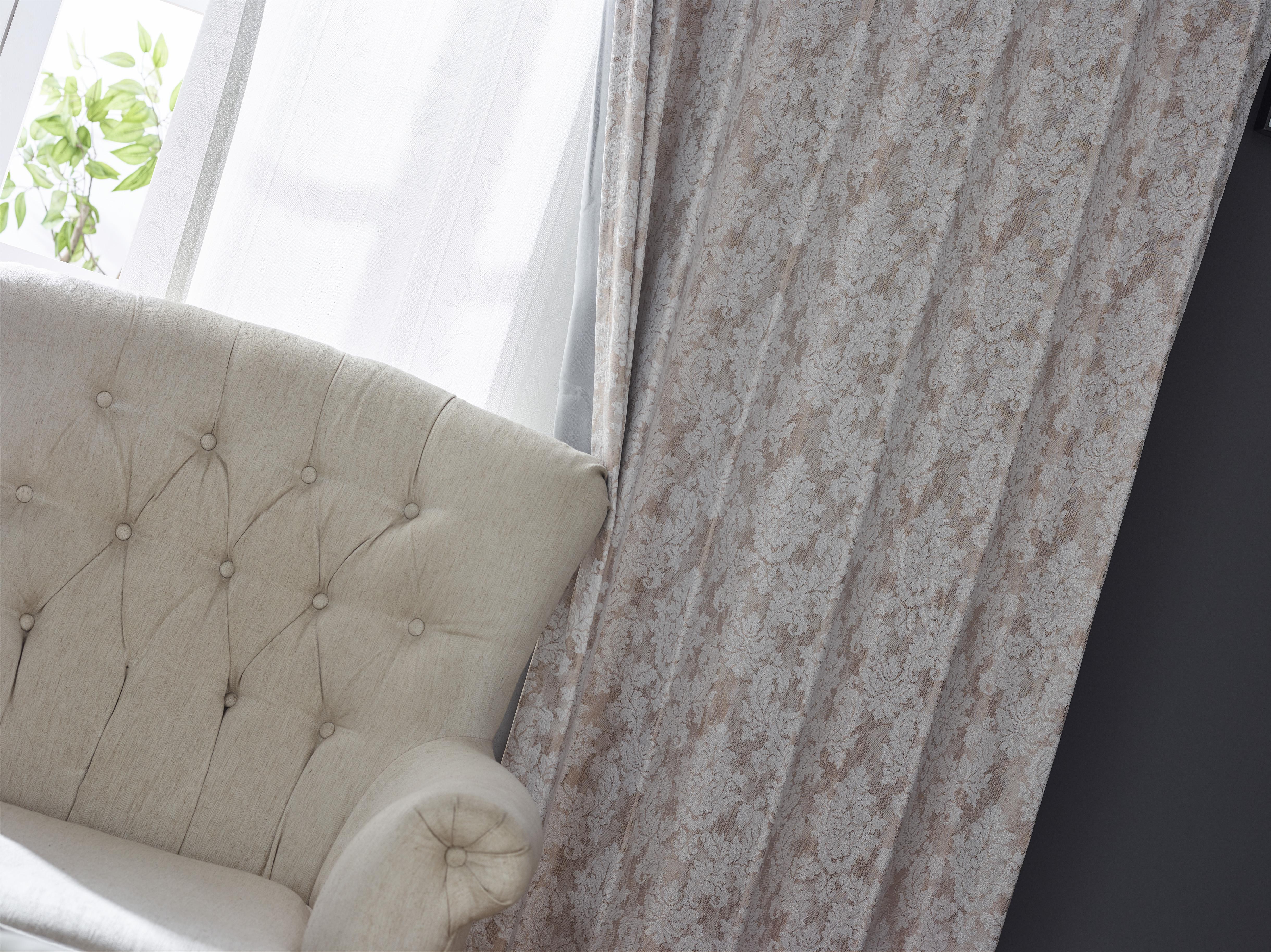 遮光カーテン 1級 防炎 遮熱 オーダーカーテン 形態安定 1cm単位のオーダー 選べる40色 Reina(レイナ)