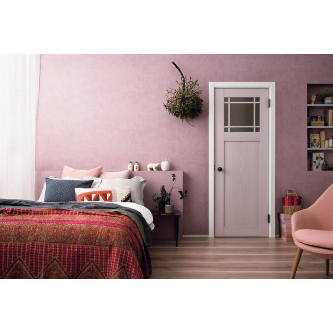 """人気の室内ドアシリーズに、待望のニューカラー登場。今年大注目の""""大人かわいい""""ピンクも♪"""