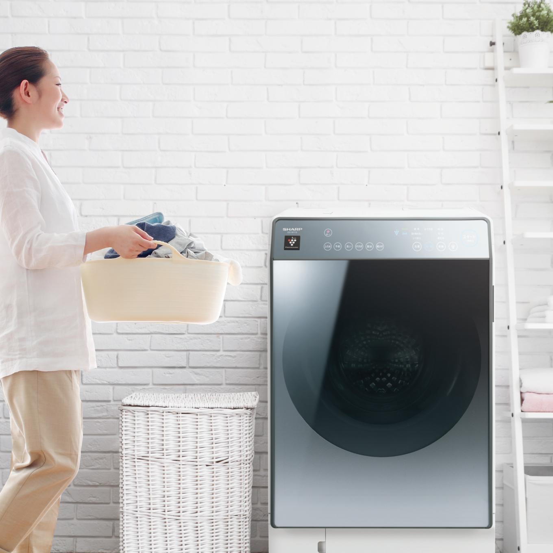 式 シャープ 洗濯 機 ドラム