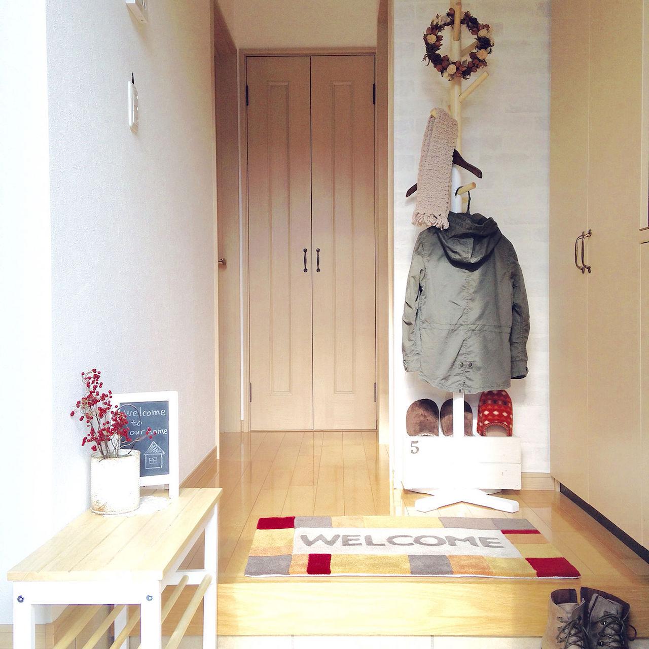 今年こそ、玄関をお気に入りの空間に。手軽に変えられる!玄関のインテリア&収納アイディア集【PR】