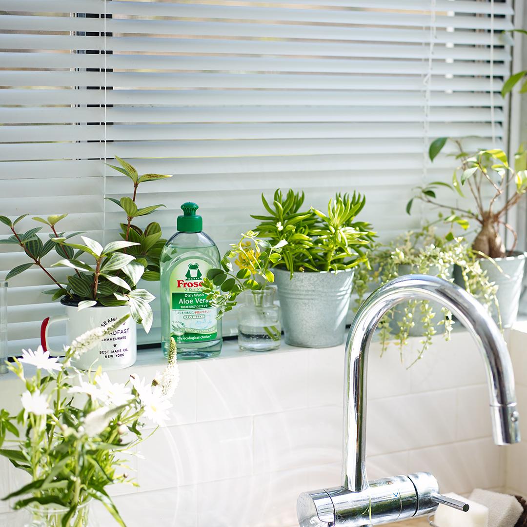 【無料モニター】キッチンを彩るデザイン・色・香り♪「フロッシュ」食器用洗剤を使ってみたい方、大募集!