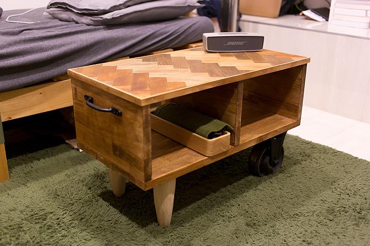 DIYをプロ仕様に格上げ!Shotaroさん流、ヘリンボーンローテーブルの作り方