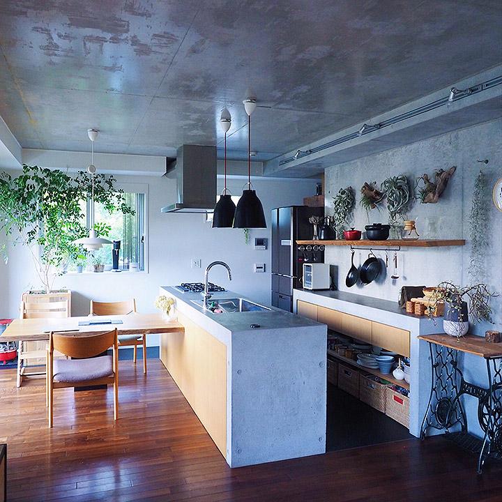 「素材とバランスで空間をデザイン。時を経て味わいが増す場所へ」憧れのキッチン vol.14 neru0414さん