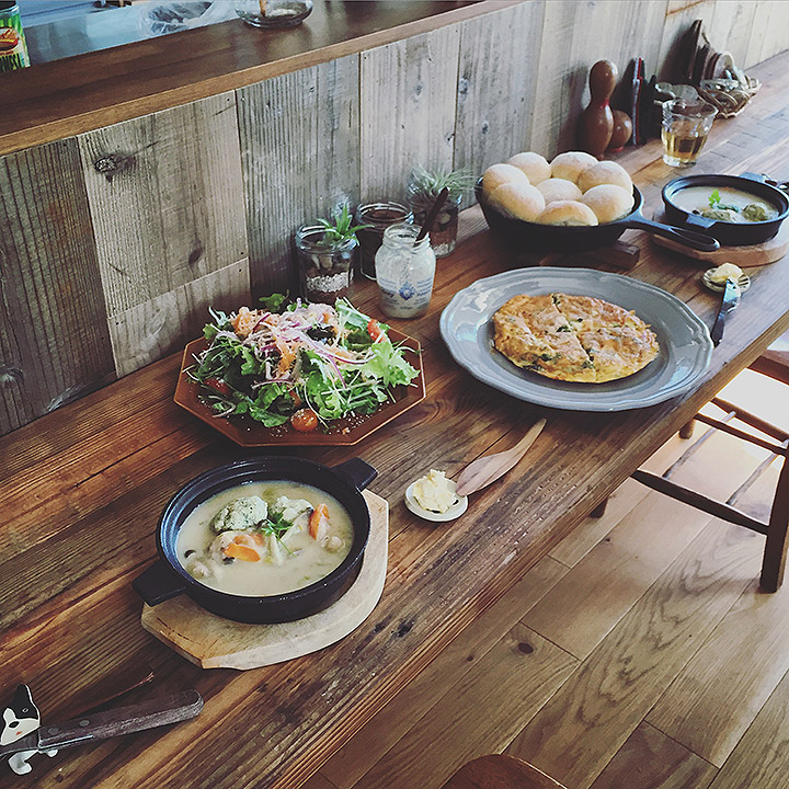 「DIYで作る海外テイストカフェ」憧れのキッチン vol.13 picnikawillさん