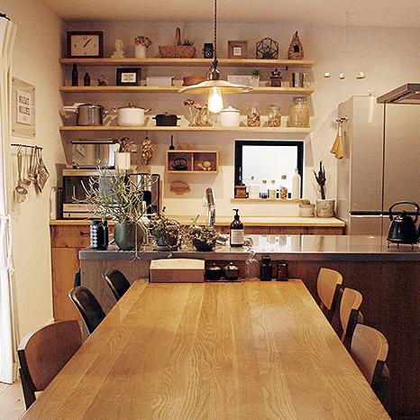 「決め手はテーマに合ったカラー・素材選び!」憧れのキッチン vol.6 otemotosさん | RoomClip mag | 暮らしとインテリアのwebマガジン