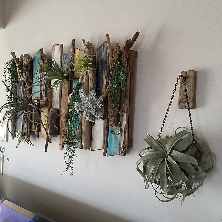 すのこと流木で作る西海岸モードな壁飾り!cooさん流、DIY術