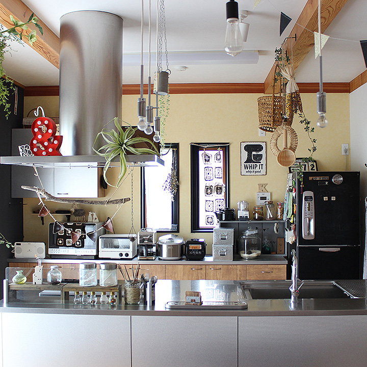 「暮らしに調和する、風通しの良い温もり空間」憧れのキッチン vol.24 coKoさん
