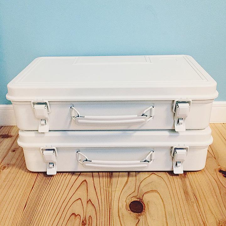 「真っ白。シンプルで絵になる工具箱」わたしの愛用品  vol.13 Tsubasaさん