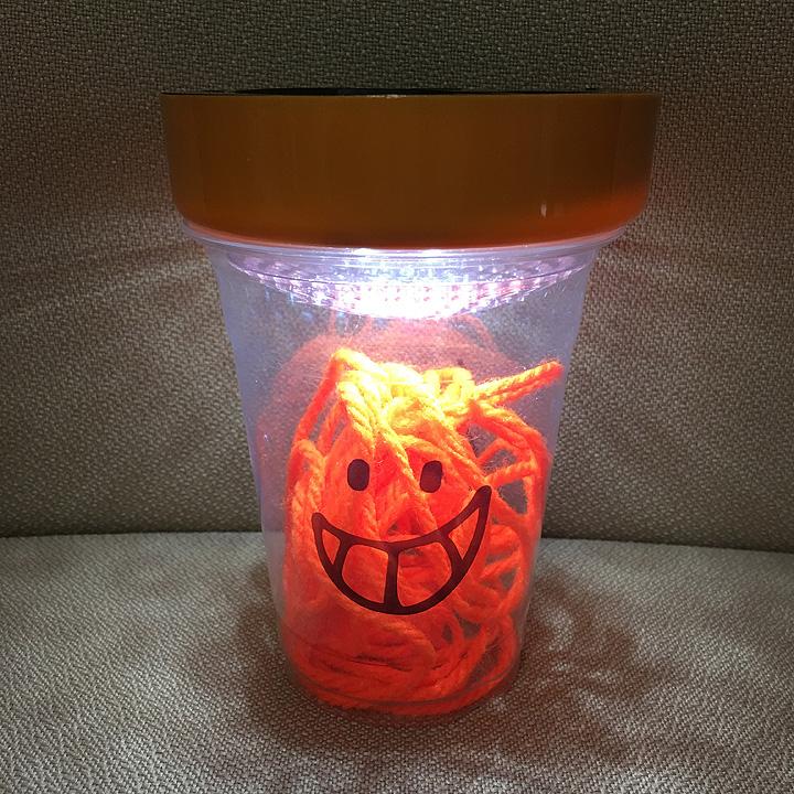 子供と始めるDIY!プラカップでできるキュートな間接照明の作り方 by taitaiさん(と息子さん) [連載: 10分でできる100均リメイク]