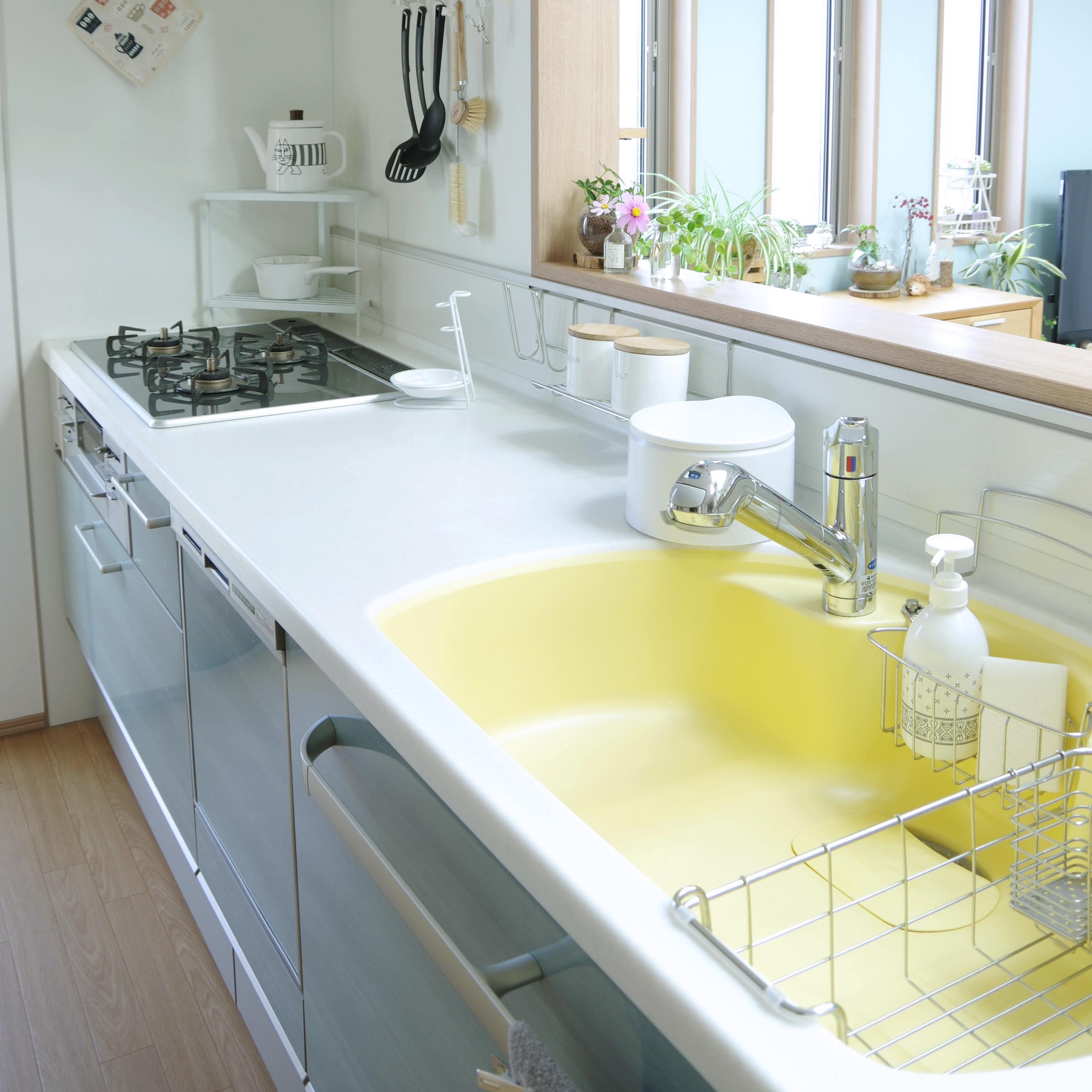 「色で魅せる引き算キッチン。誰でも使いやすく自分も快適に」 by Shooowkoさん