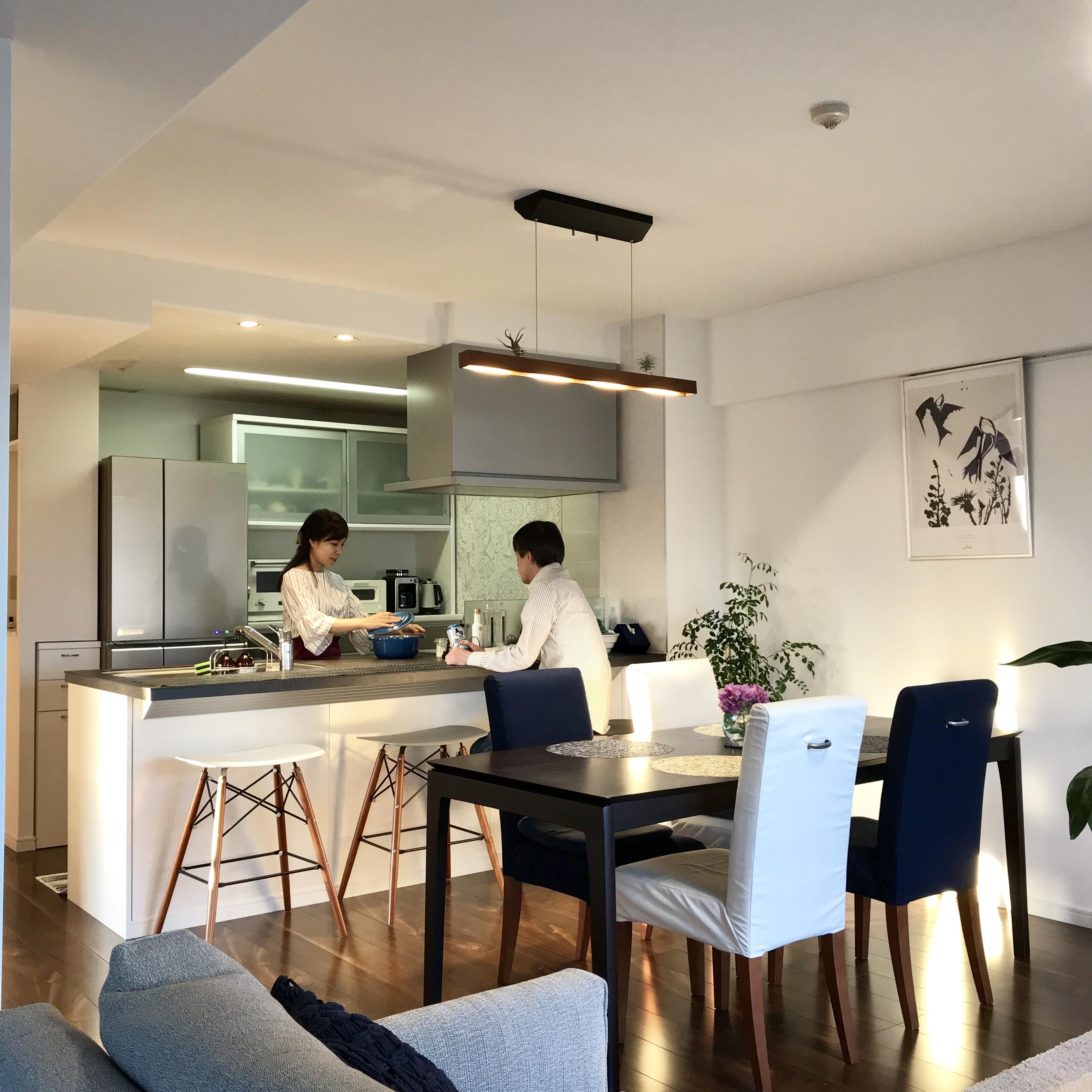 「ひとつひとつが洗練された、開放的でシックなキッチン」 by NOAHさん