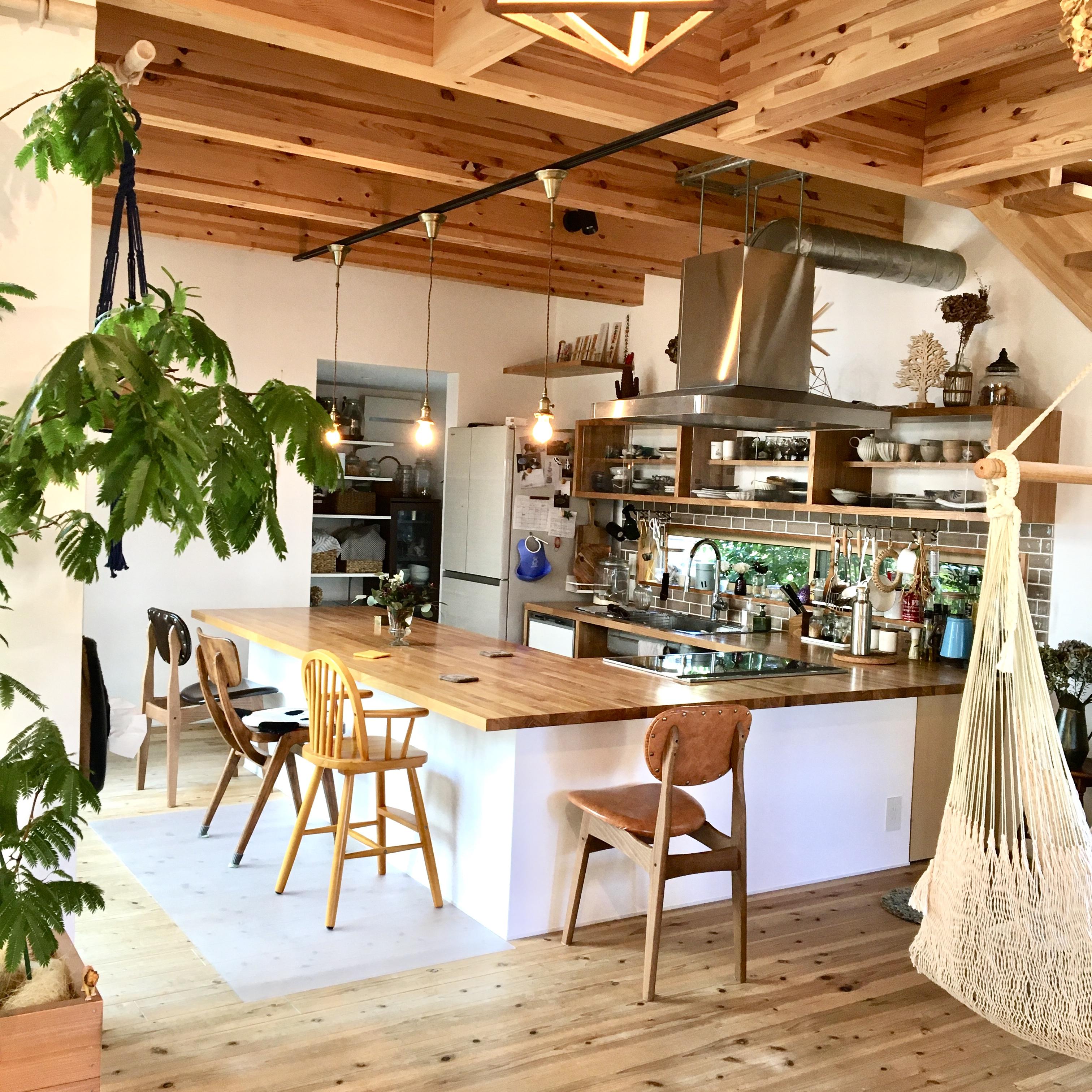 「家族や仲間とつながる、ボタニカルカフェキッチン」 by green.green.greenさん