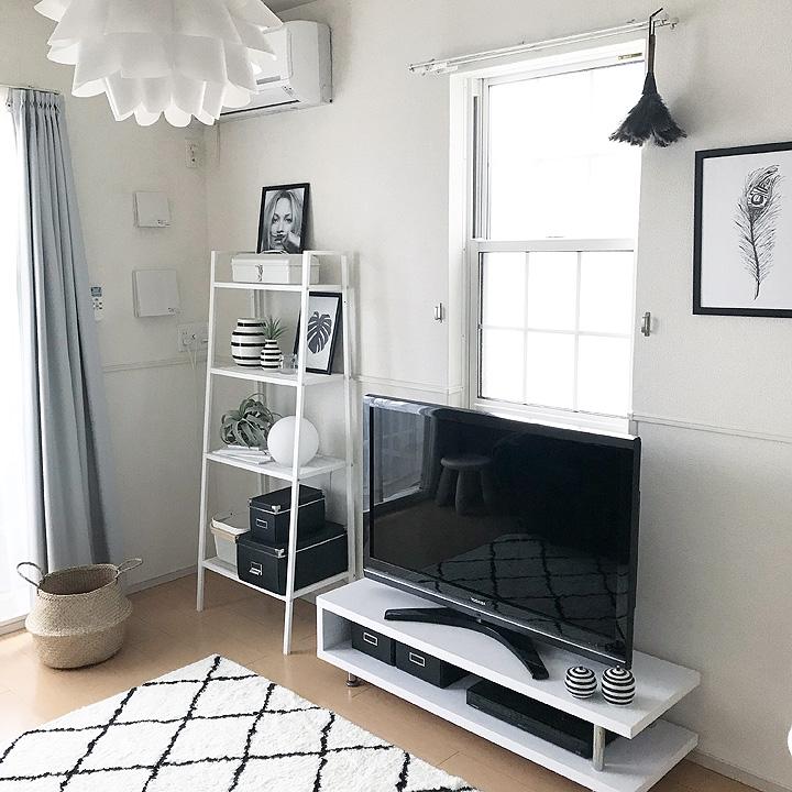 「コスパ◎何を置いても様になる、IKEAのオープンシェルフ」 by Kさん