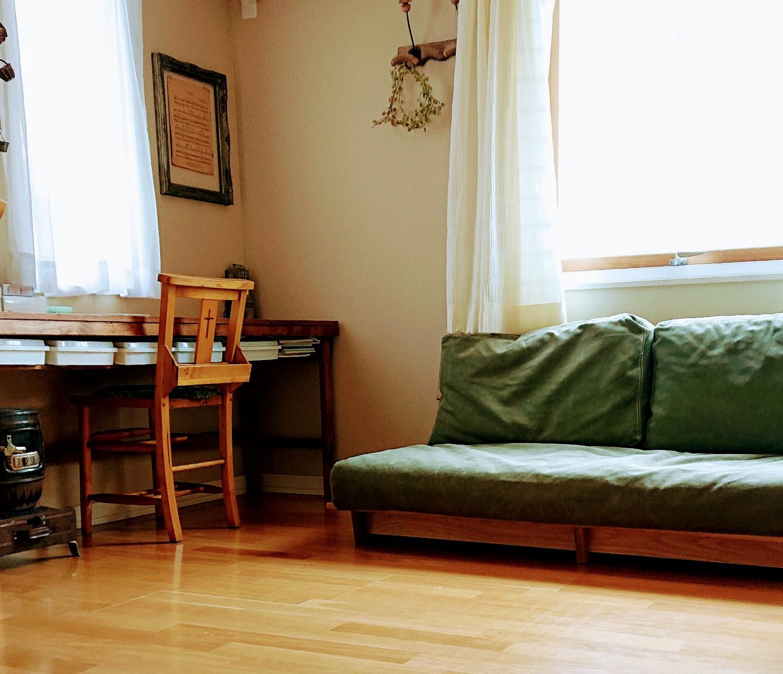 「扱いやすく、心地よい。幸福感をくれる、包容力のあるソファ」 by anneさん