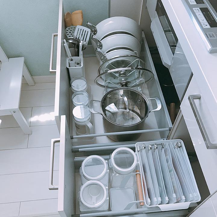 「使いやすさが劇的に変わる◎無駄を減らす収納ケースの選び方」 by Hukuiさん