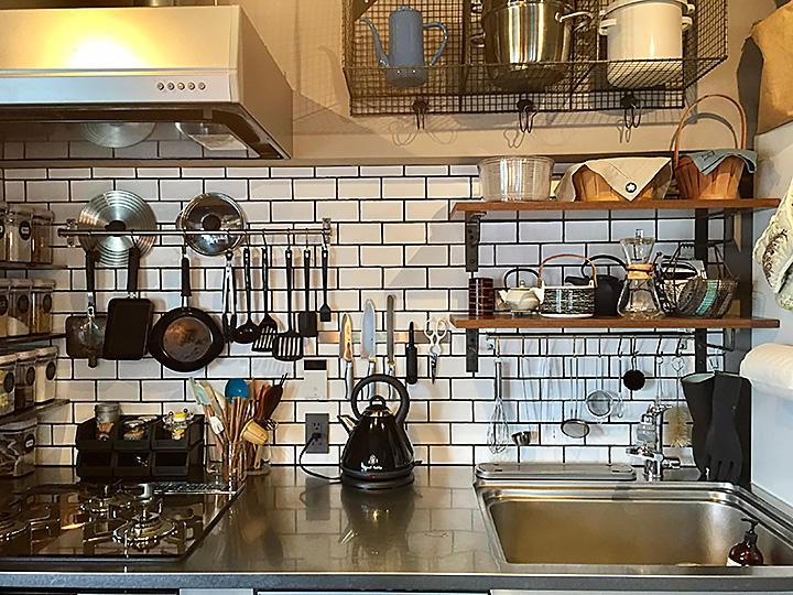 「ごちゃつきなし!メリハリで見せるキッチン収納メソッド」 by Eiriさん