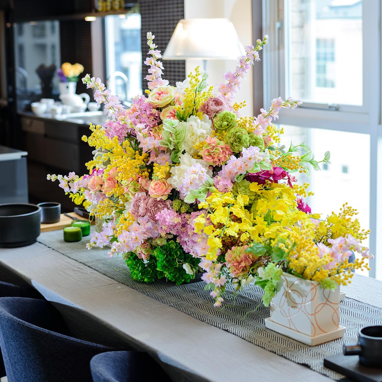 【無料モニター】プロの手でお部屋が変身!バレンタインにグリーンやお花で、お部屋を彩りませんか☆