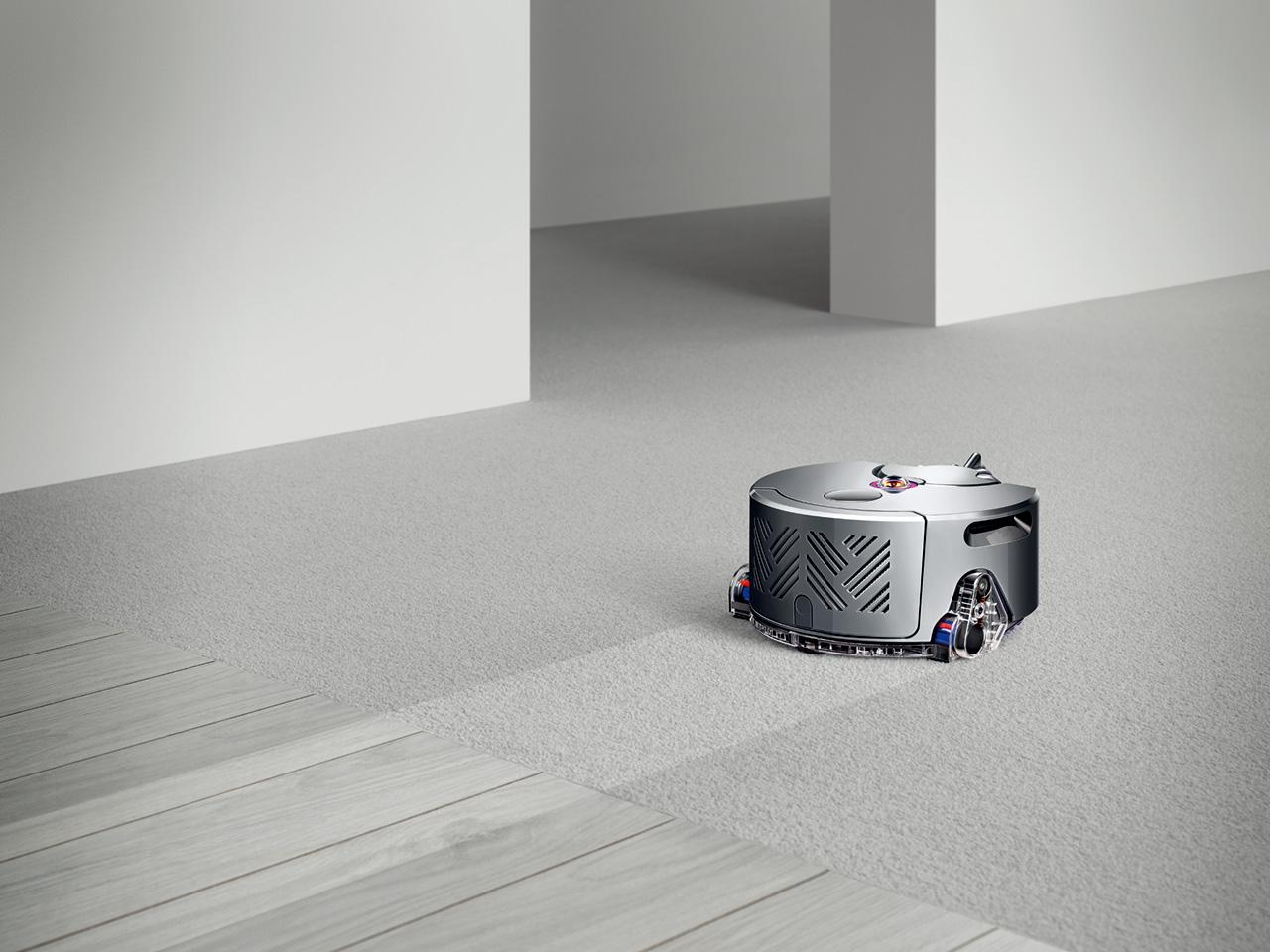ダイソン・ロボット掃除機_使用イメージ