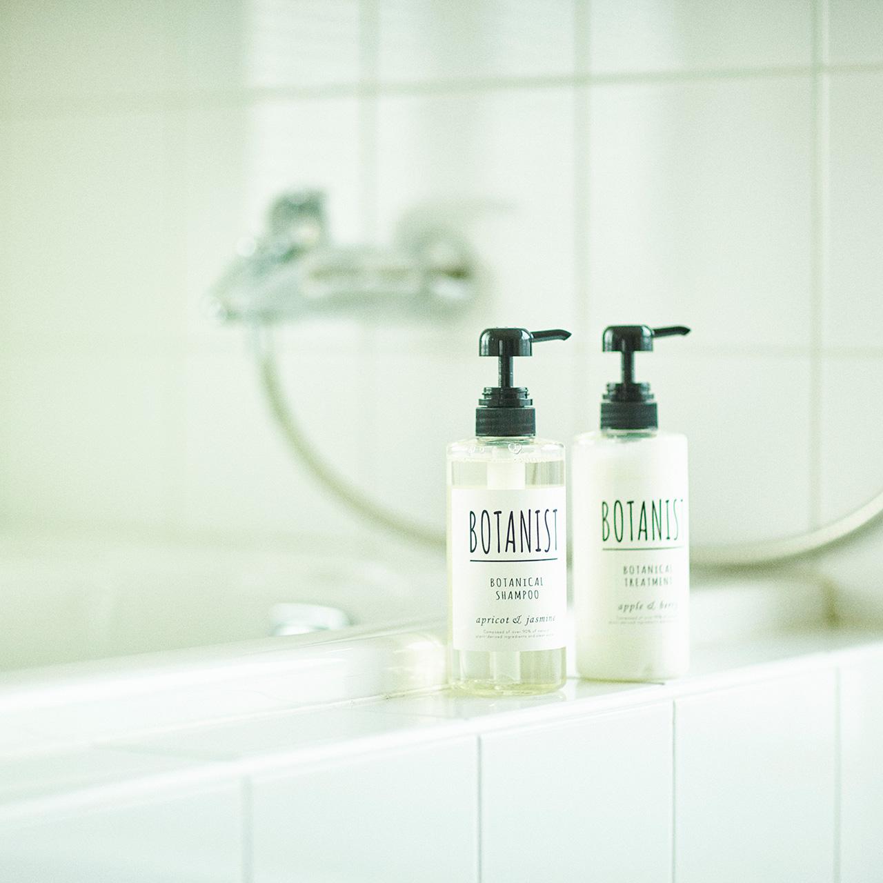 バスルームのインテリアにも♡シンプルデザインのBOTANIST【PR】