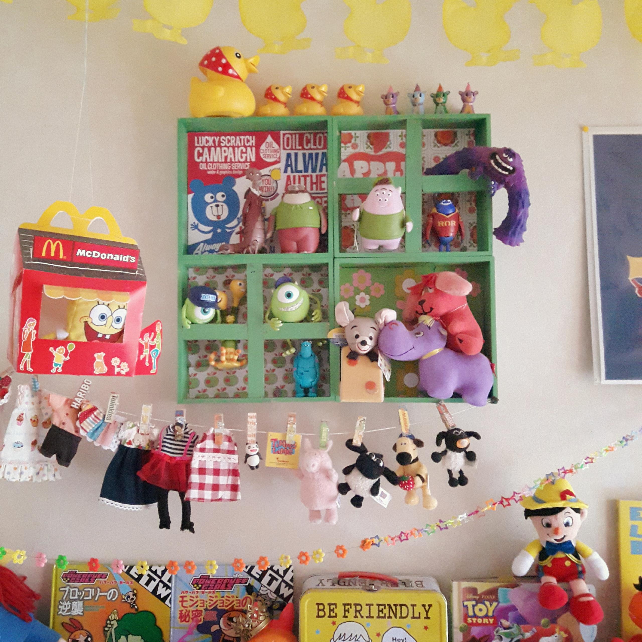 ポップを楽しむ♪大人も子どもも心躍る「アメリカン雑貨のディスプレイ棚」by matruko...さん