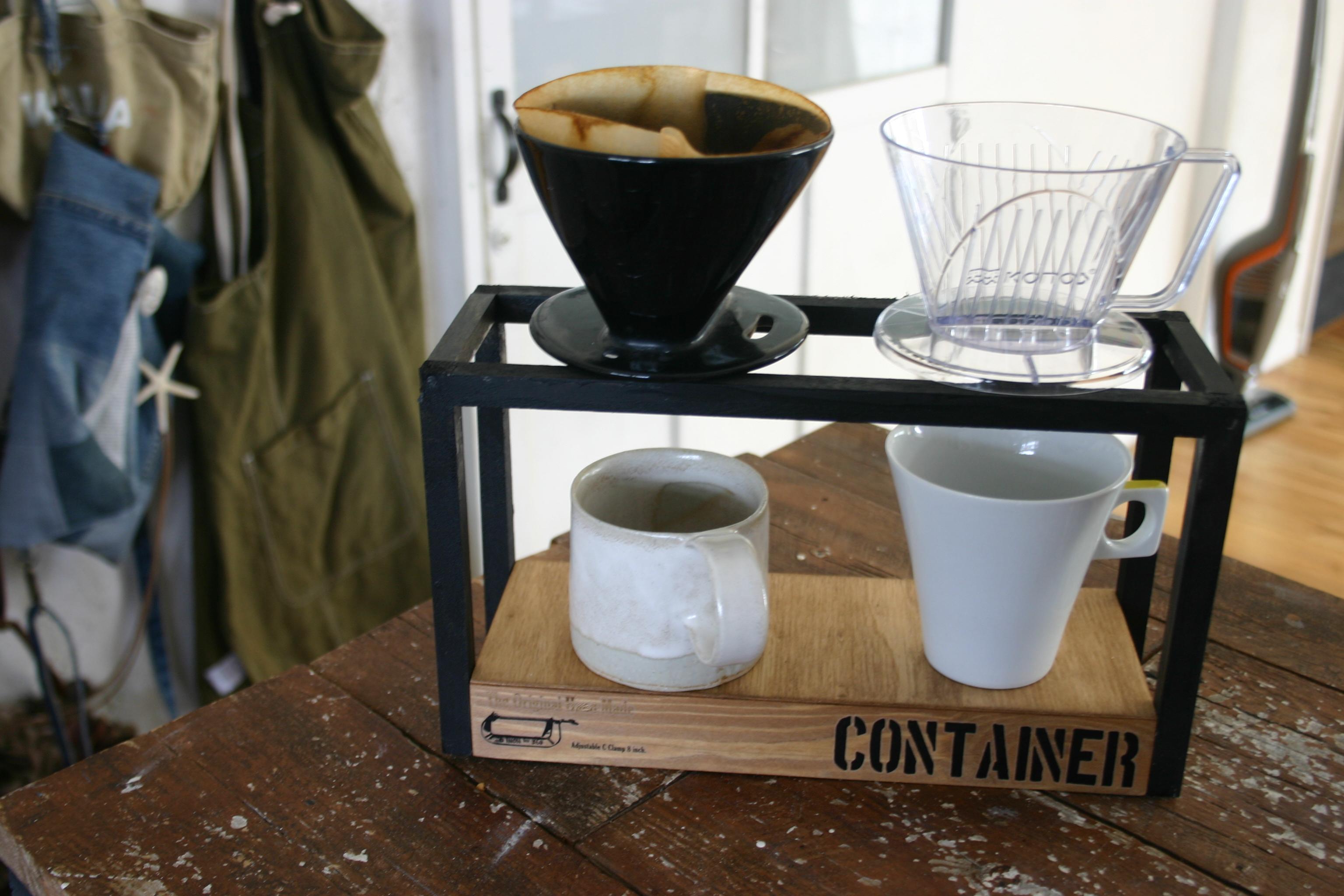 淹れる時間も優雅に♪おうちカフェがもっと楽しくなるコーヒードリップスタンド by a-koさん
