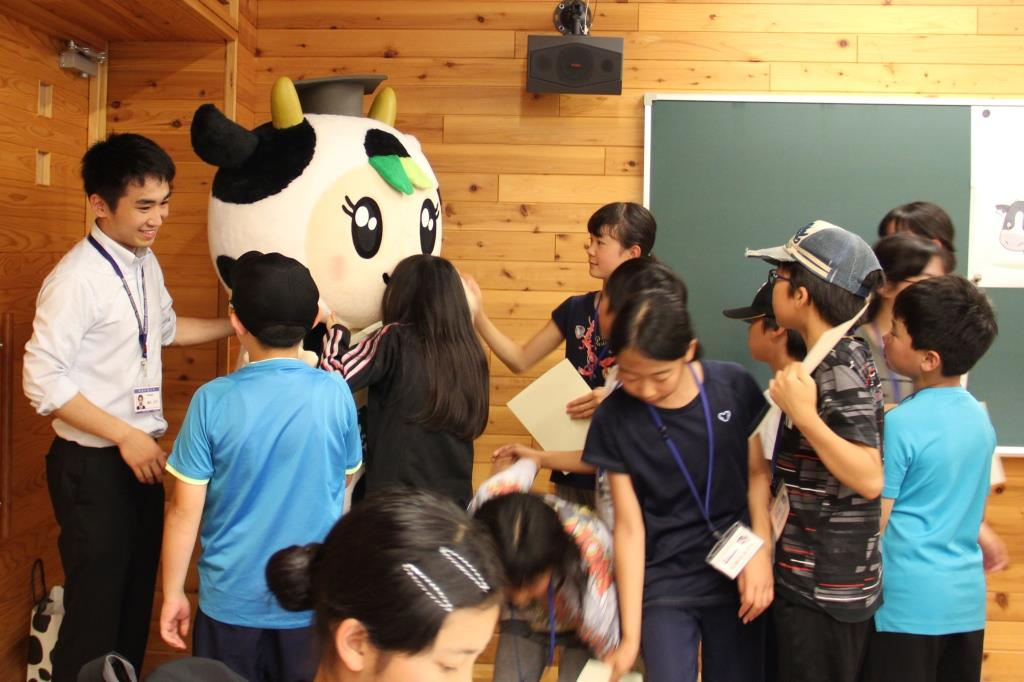 「酪農学園大学 ひらめき☆教室」に登場しました!