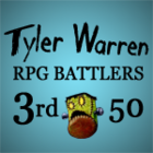 Tyler Warren RPG Battlers – 3rd 50