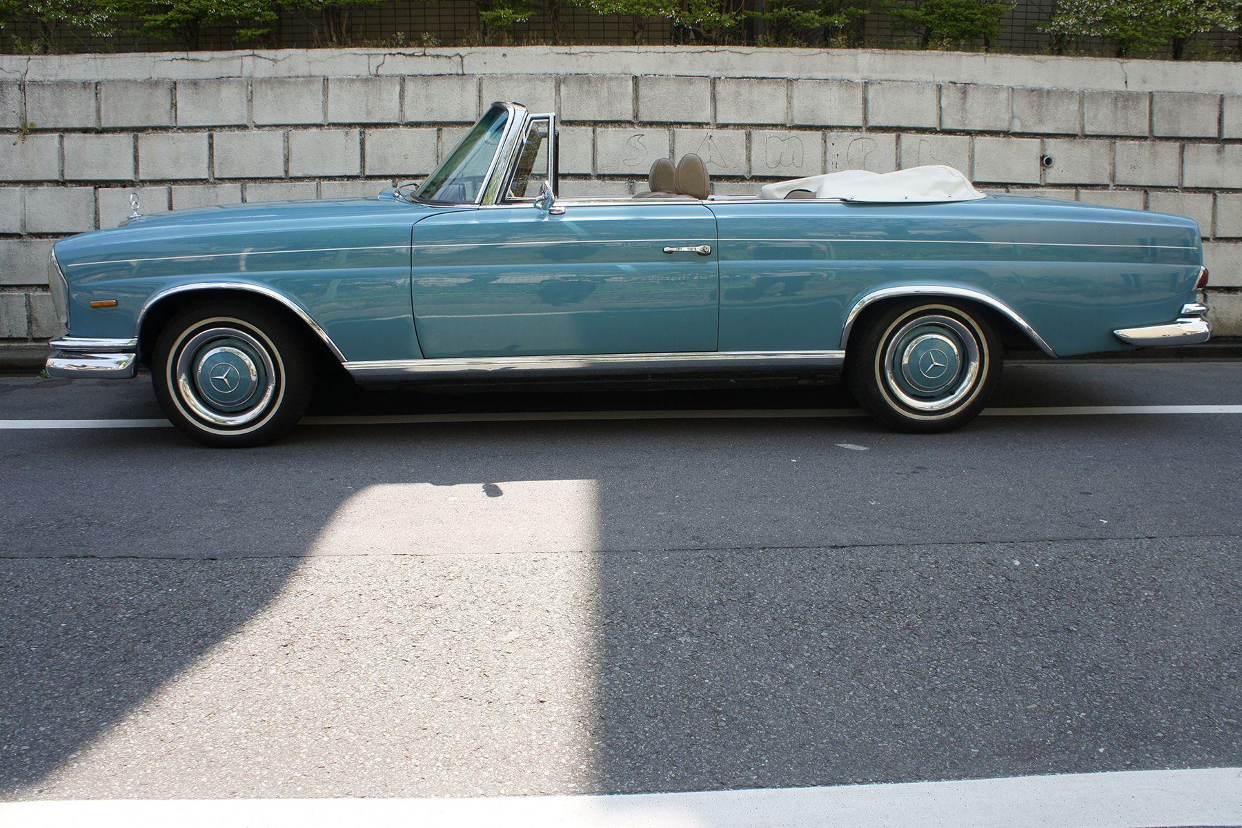 ガレージ310 (ガレージミト)65年 250SE カブリオレ ブルー