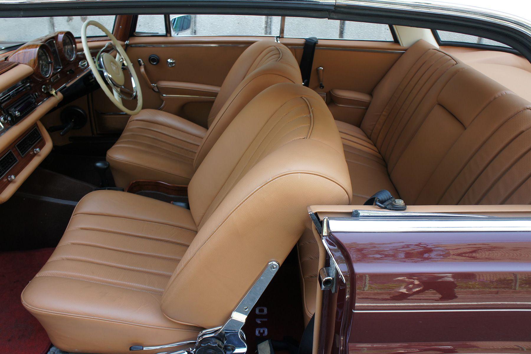 ガレージ310 (ガレージミト)66年 250SE クーペ ワインレッド