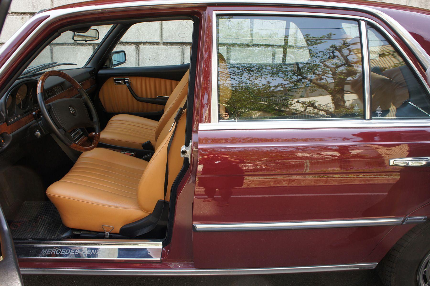 ガレージ310 (ガレージミト)77年 280SE ワインレッド