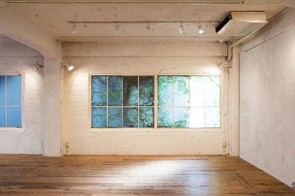 LIGHT BOX STUDIO 青山 1F (ライトボックススタジオ)1F南西の窓