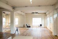 LIGHT BOX STUDIO 青山 2F (ライトボックススタジオ):すりガラスから光が差し込みます