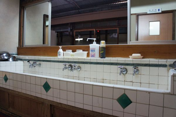 HOMEIKAN 本館・台町別館/旅館 (ホウメイカン)本館_2F 洗面所