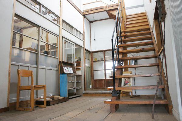senkiya/雑貨&gallely&cafe (センキヤ)1F 階段