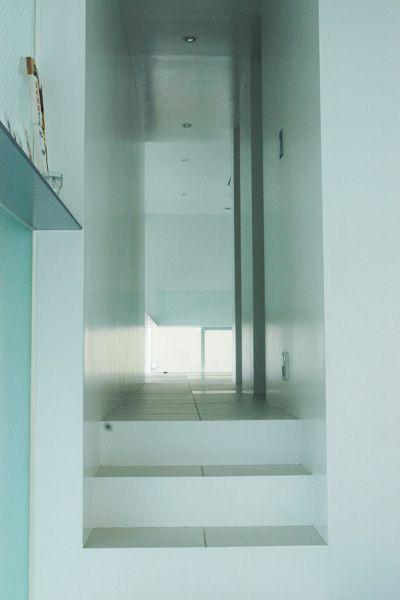 M HOUSE/個人宅 (エム ハウス)玄関
