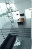 M HOUSE/個人宅 (エム ハウス):リビング(俯瞰)