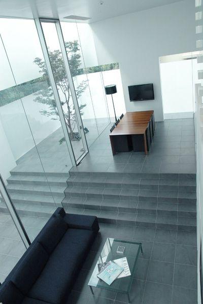 M HOUSE/個人宅 (エム ハウス)リビング(俯瞰)