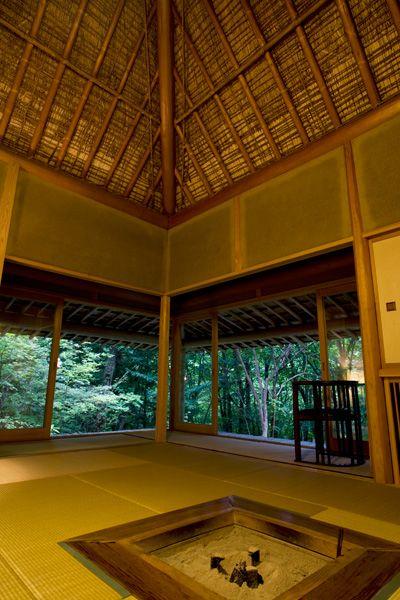 蓼科山荘(別荘)囲炉裏