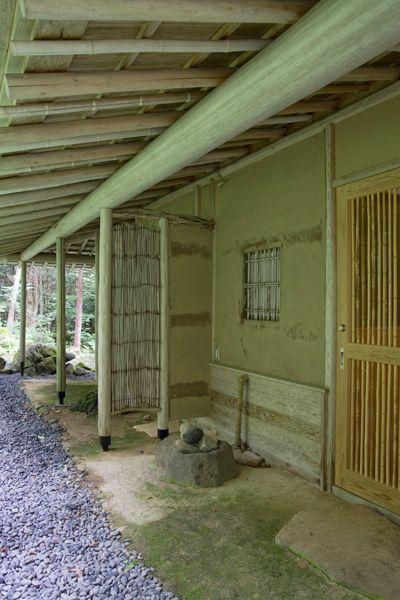 蓼科山荘(別荘)茶室裏