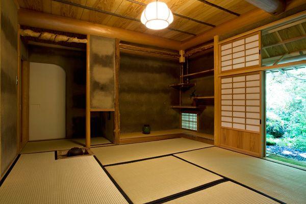 蓼科山荘(別荘)茶室