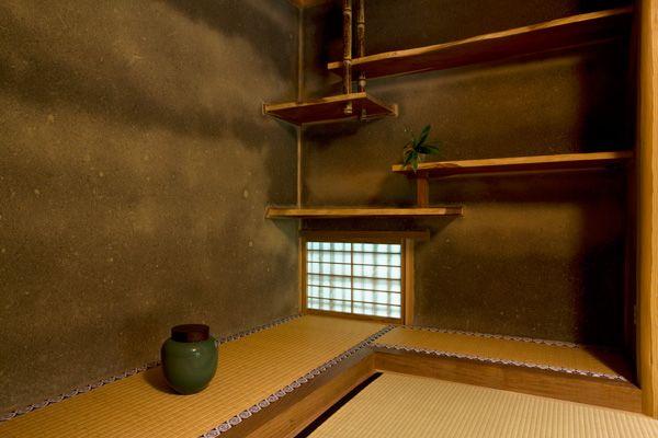 蓼科山荘(別荘)床の間