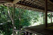 蓼科山荘(別荘):濡縁