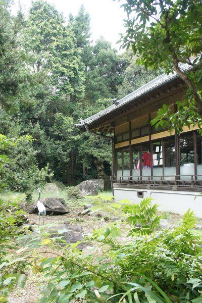 大日苑(ダイニチエン)/旧植竹庄兵衛邸日本家屋前の庭