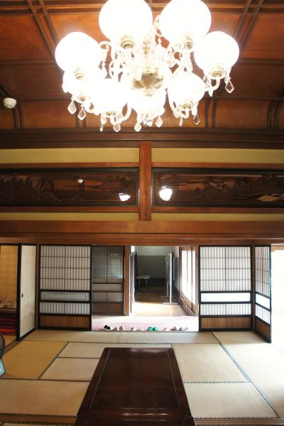 大日苑(ダイニチエン)/旧植竹庄兵衛邸和室10畳が2間つづき