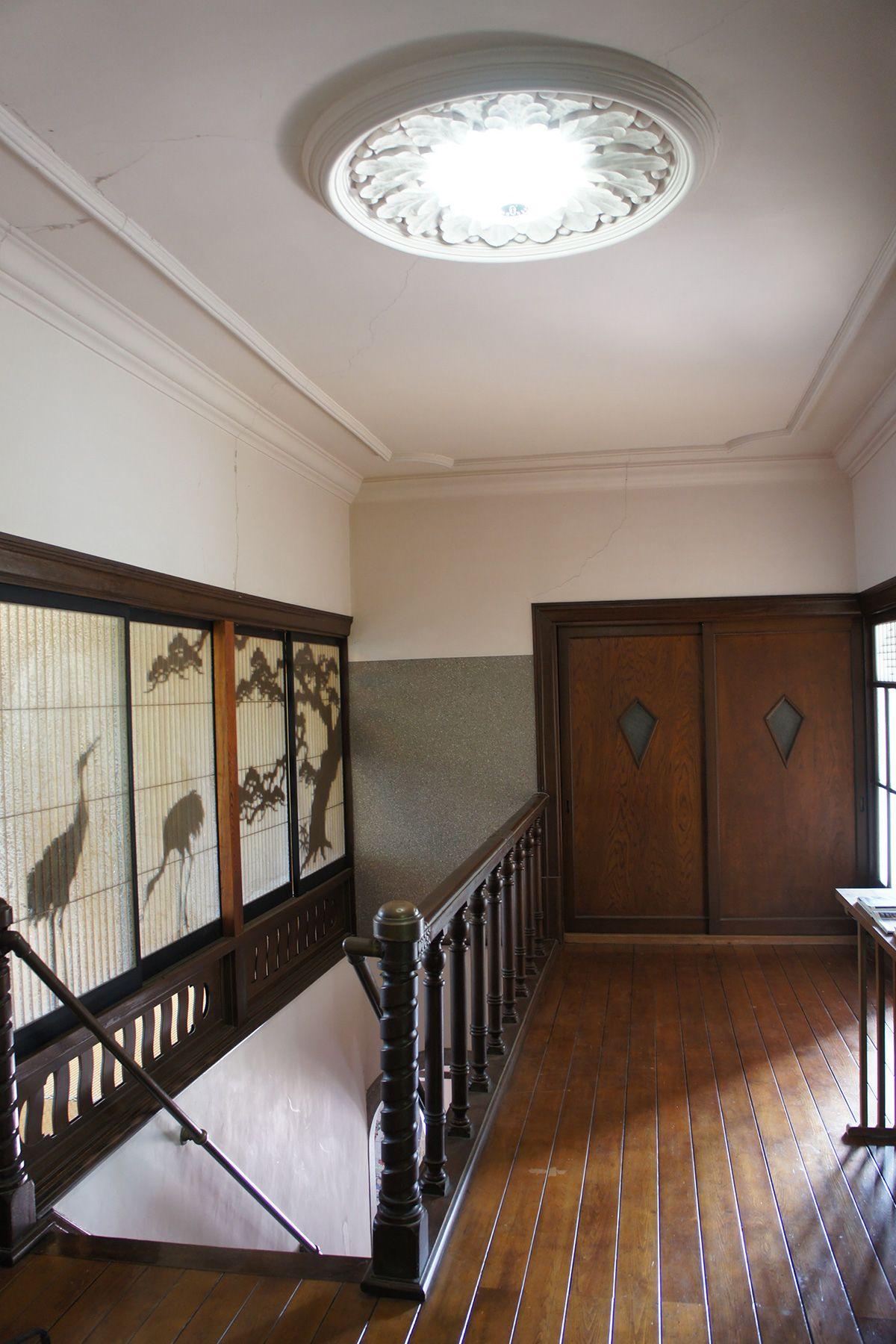 大日苑(ダイニチエン)/旧植竹庄兵衛邸2階の廊下