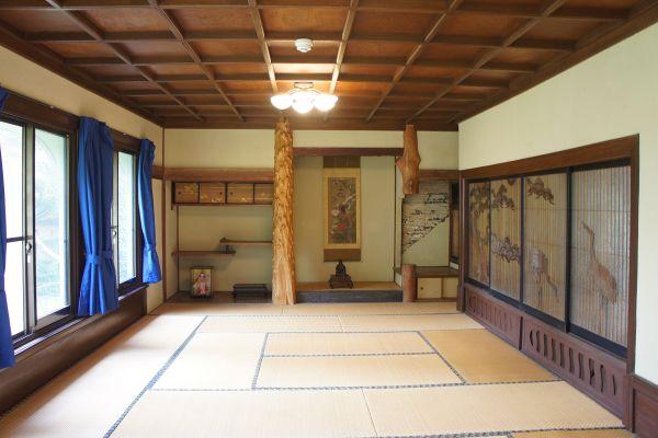 大日苑(ダイニチエン)/旧植竹庄兵衛邸洋館の2階は和室