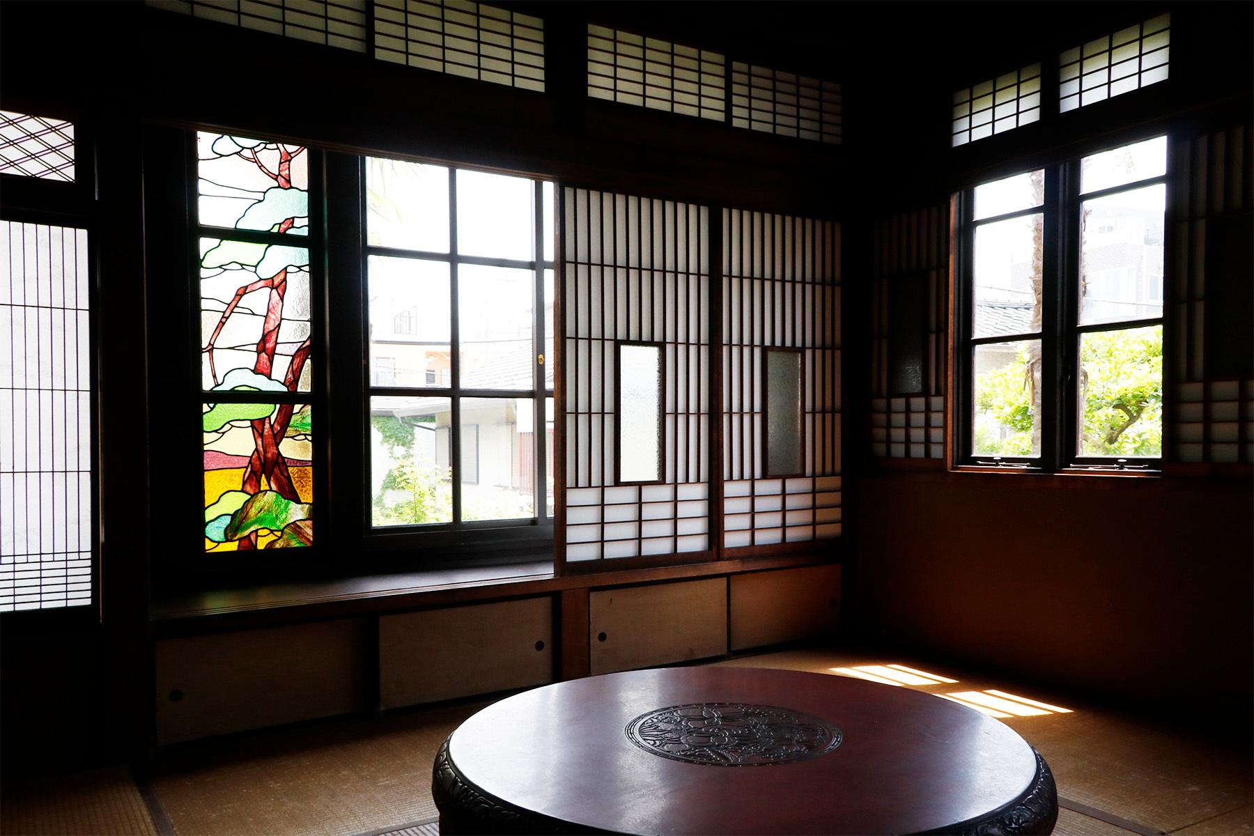 方斎庵(ほうさいあん)/指定文化財1F 玄関